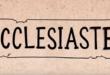 傳道書 Ecclesiastes (粵語)